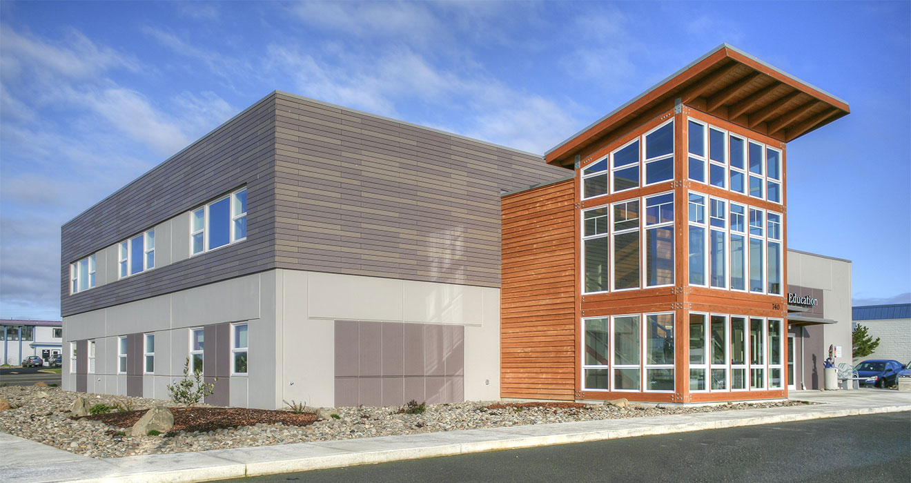 Newport, Oregon | <a href='https://www.capriarchitecture.com/projects/samaritan-pacific-communities-hospital-center-for-health-education/'>See more</a>